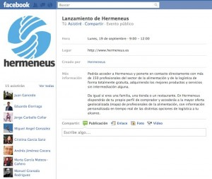 Evento Facebook Hermeneus
